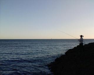 2006-08-12--Kim Fishing-1