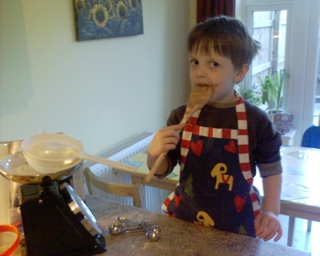 2007-01-26--Cake Baking