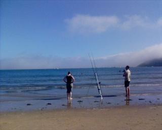 2007-08-25--Oxwich Bay Fishing