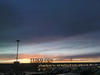 2008-01-09--Tescos Sunset