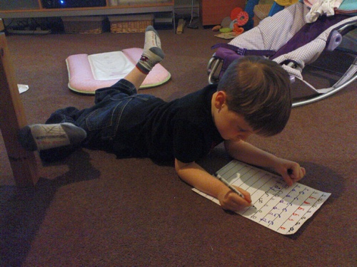 2008-02-24--Jacks Homework