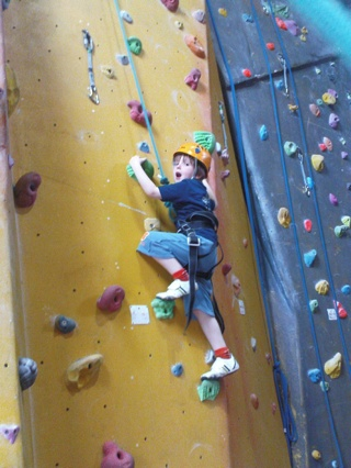 2008-08-01--Jack Climbing