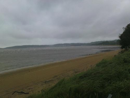 2008-09-05--Windy, Wet Swansea Bay