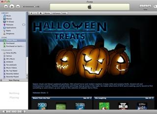 2008-10-23--Halloween Films On Itunes