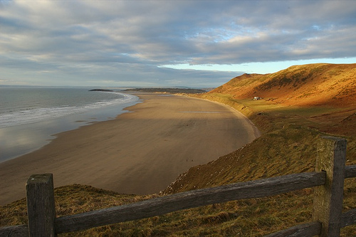 Rhossili beach, Gower