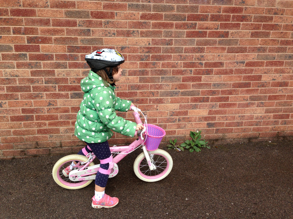 Annabel cycling