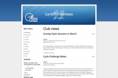 Cardiff Tri Screenshot