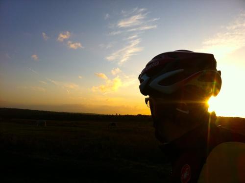 Riding at dawn