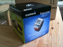Boxed Garmin 305