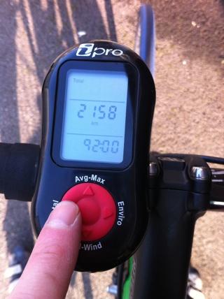 92 hours on 2nd iBike power meter