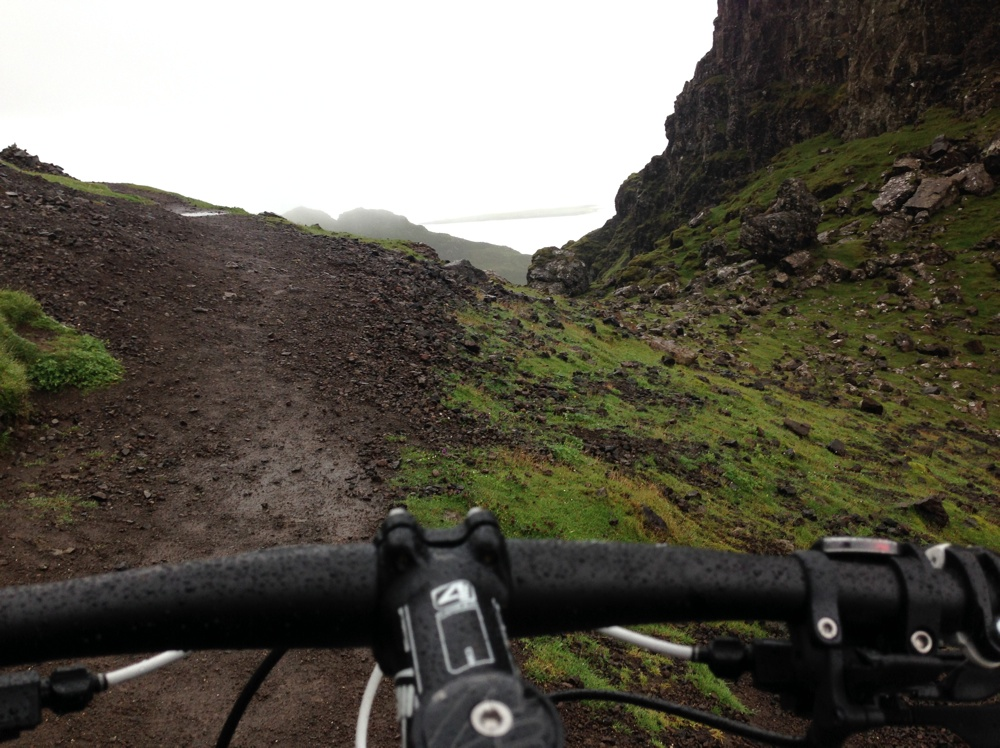 Mountain biking on Skye