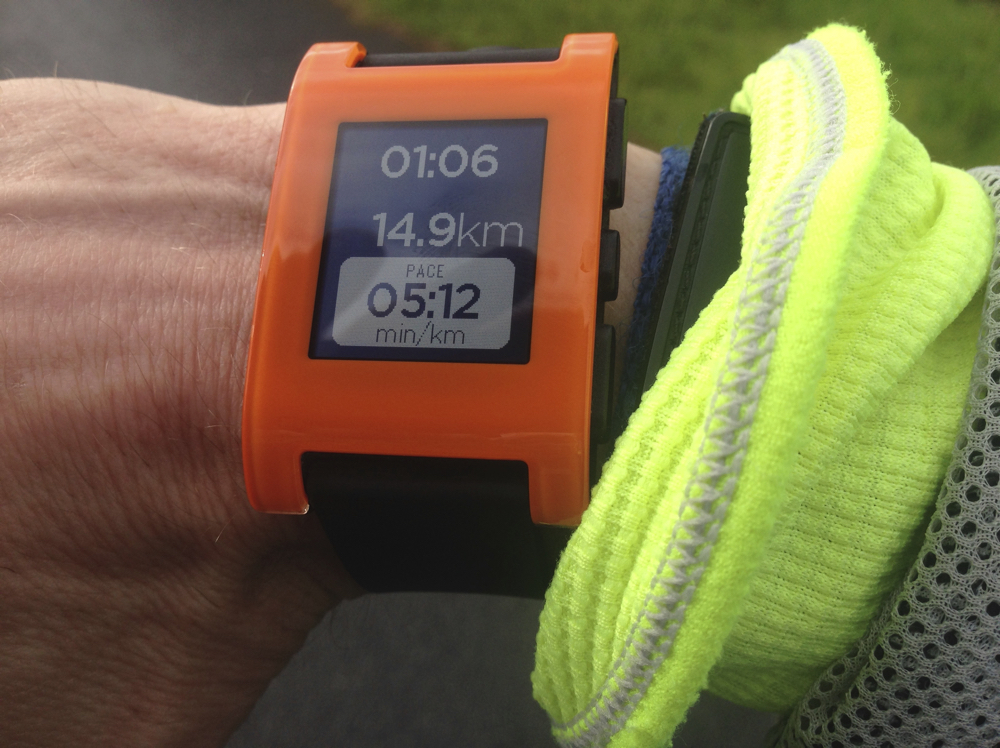 Running with Pebble