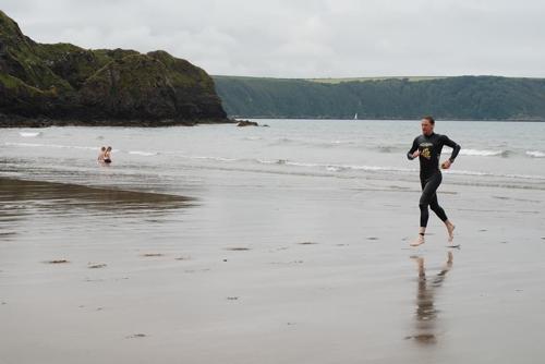Pembs Tri 2013 Swim