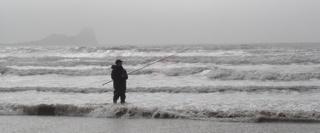 Beachcasting Rhossili Rwb 001